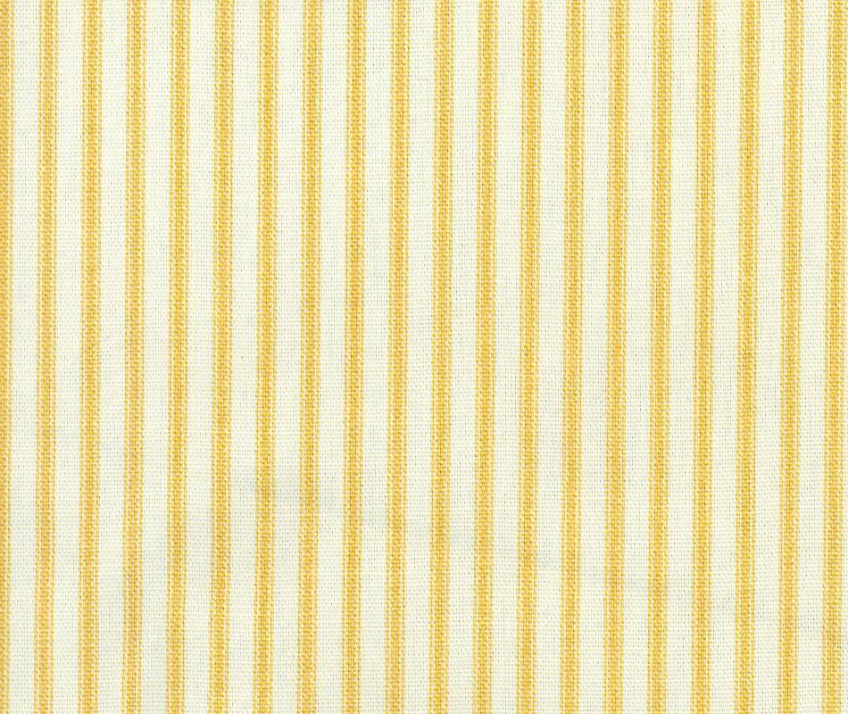 Ticking stripe 41958 gold the fabric mill for Ticking fabric