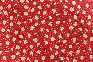 Dorothys Daisies Red 117572-RH-2