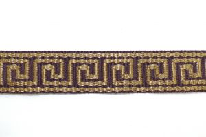 Greek Key Violet HT-601