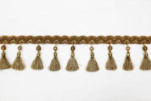 Tassel Fringe on Gimp Gold