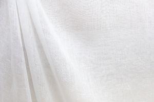 Augusta White Linen Scrim 118