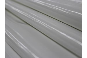 Patent Leather Vinyl White