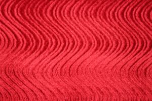 Velvet Nylon Swirl Red