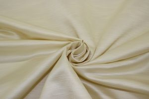 Shantung 118 inch wide Cream Siena DRE1158