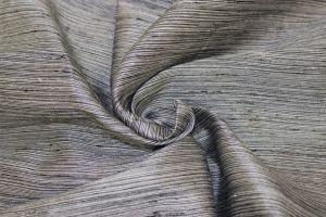 Shantung Strea 118 inch Grey Antik Satin