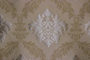 Tessuto Stralys Damask Cream