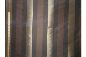 Tessuto Stralys Stripe Brown