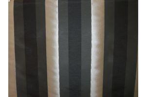 Tessuto Stralys Stripe Black Silver