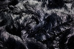 Faux Fur Alpaca Black