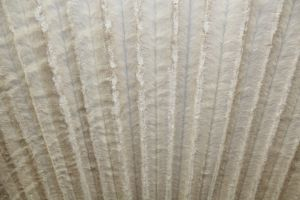 Faux Fur Pelted Mink Natural