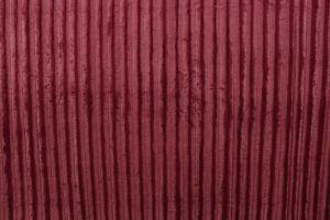 Faux Fur Pelted Mink Burgundy