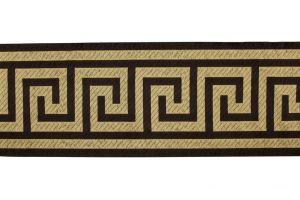 Greek Key Braid 6-inch Wide BR-7500 Brown 66