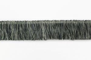 Brush Fringe BF-1480 49/11 Gray/Silver