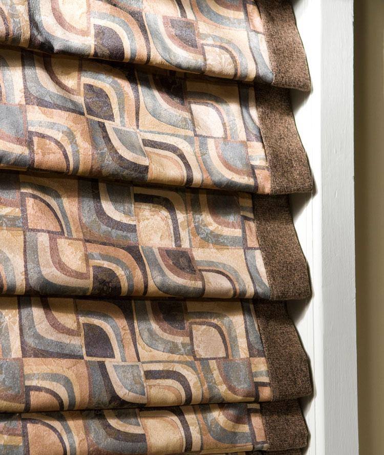 Shades Flat Fold Classic Roman Shade The Fabric Mill