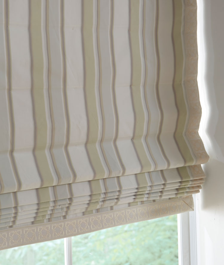 Shades Soft Fold Roman Shade The Fabric Mill
