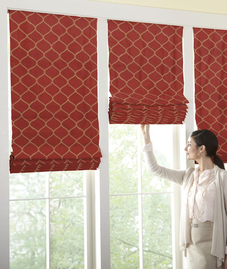 Shades Soft Fold Roman Shade The Fabric Mill